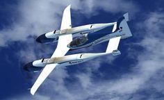 Pond Racer 2011 in flight.