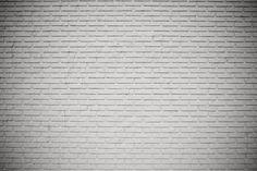 brick grunge white wall texture background