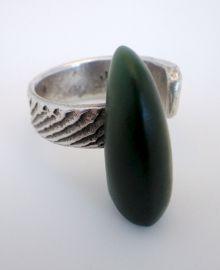 New Zealand Jewellery - Greenstone (pounamu) Ring