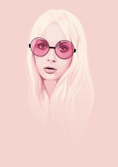 60s Girls Vectors by Electra Sinclair, via Behance