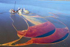 Math predicts oil spill's path through ocean