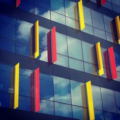 Office building - Bucharest by Point Zero & Zebra3 Instagram Posts, Building, Bucharest, Facade, Zero, Architecture, Construction, Buildings, Civil Engineering