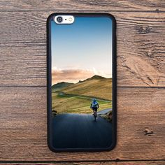 Mountain under sunset Case For IPhone