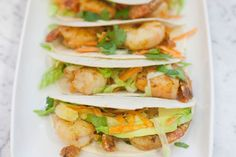 Spicy Prawn Tacos | 28 by Sam Wood 28 By Sam Wood, Spicy Prawns, Sandwiches, Tacos, Ethnic Recipes, Food, Essen, Meals, Paninis