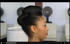 How To Master Pin-Up Hairstyles   tamikafletcher.com
