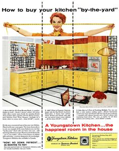 Youngstown Kitchens advertisement. by totallymystified, via Flickr
