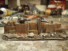 DIY 40k scatter terrain and barricades