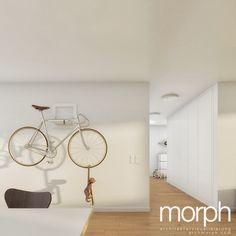 Studie Wohnungsbau | Seestrasse - Horgen | ® morph architekturvisualisierung Tennis Racket, Architecture, House Building