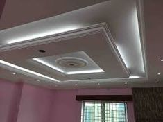 4 Exciting Tips AND Tricks: False Ceiling Living Room Chandeliers l shape false ceiling.False Ceiling Plan Layout false ceiling section interior design.False Ceiling Section Interior Design. Plaster Ceiling Design, Gypsum Ceiling Design, House Ceiling Design, Ceiling Design Living Room, Bedroom False Ceiling Design, False Ceiling Living Room, Interior Design Companies, Decor Interior Design, Gypsum Board Design
