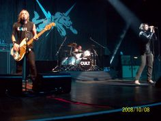 The cult, at the Credicard hall in São Paulo, in 2009