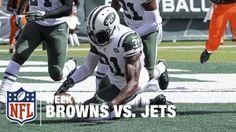 Jets vs Browns NFL football live