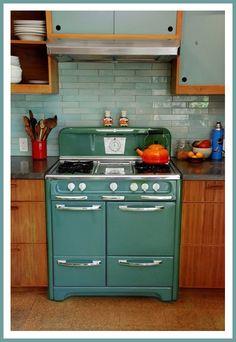 old stove. Love love Love!