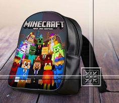Steve And Friend Celebration Amazing Famous Game - Game Design For Kids School Bag Backpack