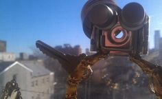 Photography Digital Download Found Object Robot by 4StoriesUp
