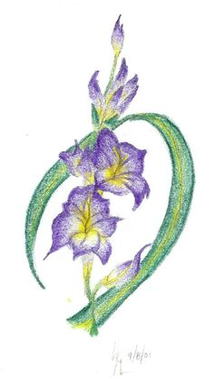 birth flower, would so love to have something like this in one of my future tattoos <3