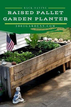 Tutorial for pallet planters