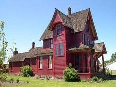 Lovely old house.