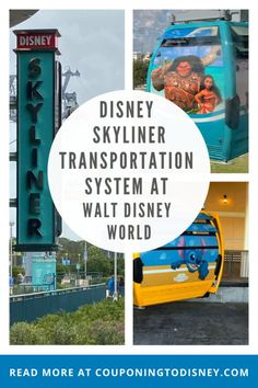 Disney's NEW Skyliner Transportation System At Walt Disney World Disney World Vacation Planning, Walt Disney World Vacations, Disney World Resorts, Disney Cruise, Disney S, Disney Trips, Disney Parks, Disney Land And Sea, Disney World Transportation