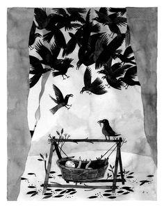 crows.jpg (1000×1265) Carson Ellis
