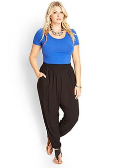 Classic Woven Joggers | FOREVER21 PLUS - 2000061858