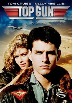 Top Gun - 1986 - The film stars Tom Cruise, Kelly McGillis, Val Kilmer, Anthony Edwards, and Tom Skerritt.