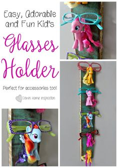 Kid's Glasses Holder