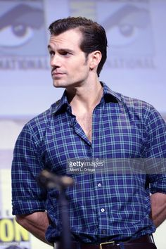 Henry Cavill and the 'Justice League' cast attend the Warner Bros panel at SDCC2016