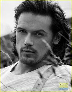 Sam Heughan aka Jamie Fraser in Outlander on Starz!  Need to excise serious control if I ever run into this man...Oh My.