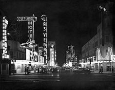 Las Vegas, NV, 1959.