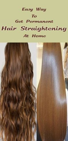 Learn how to straighten hair at home. Now You have done hair rebonding and hair straightening at home. You can try this and get straight hair & silky hair with all-natural ingredients. The remedy is super effective and gives effective results on Straight Hair With Braid, Balayage Straight Hair, Brown Straight Hair, Natural Straight Hair, Haircuts Straight Hair, Natural Hair Styles, Long Hair Styles, Long Silky Hair, Black Balayage