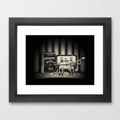 Conjoined Monsters of Rock (framed) by Nikos Panagiotopoulos, via Behance