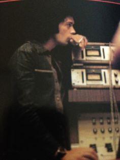 Tim Durante una grabacion de disco.