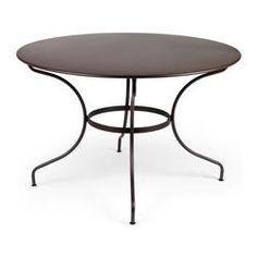 Buy 46-inch Round Fermob Opera Table with Parasol Hole online with free shipping from thegardengates.com