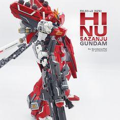 RX-93-v2 [SZS]: Hi Nu Sazanju Stein Gundam サブ画像4