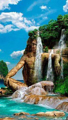 Kak Prekrasen Etot Mir In 2020 Summer Nature Photography Waterfall Landscape Photography Nature