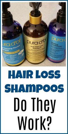 Do Hair Loss Shampoos Work? - Organic Palace Queen #WhyHairLoss