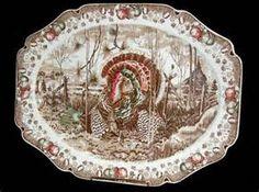 English Johnson Brothers Turkey Platter - For Sale