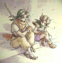 ❁ Trouble With Dreams ❁ - Kind of cute. Who grows into huge. Final Fantasy, Fantasy Art, Nerd Stuff, Cool Stuff, Suikoden, Dragon Quest, Anime Guys, Saga, Destiny