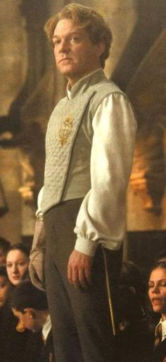 """Kenneth Branagh as Gilderoy Lockhart in """"Harry Potter and the Chamber of Secrets"""""""