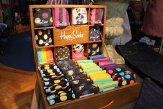 Image result for happy socks display Sock Display, Sock Shop, Colorful Socks, Happy Socks, Arcade Games, Cork, Image, Corks