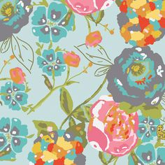 Garden Rocket in Turquois would be great Fabric for a chair