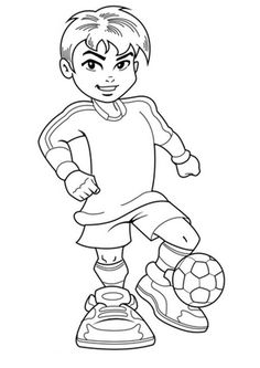 Pin by YesColoring Coloring Pages on Spectacular Soccer