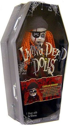 Living Dead Dolls are the perfect goth doll. These 10 inch cuties are as evil as they are cute. Pieces Of Eight, Living Dead Dolls, Antique Toys, Doll Accessories, Fashion Dolls, Baby Items, Cool Stuff, Antiques, Ebay