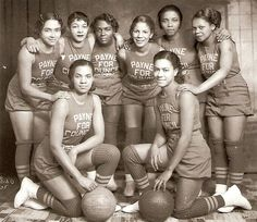 "HOOP DREAMS | 1935Councilman L.O. Payne's All Female Basketball Team (ladies names unknown) Photographer, Allen E Cole. Reflections in Black: A History of Black Photographers 1840 to the Present; by Deborah WillisBlack History Album…The Way We Were"" on Pinterest 