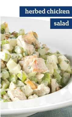 Chicken Salad With Roasted Bell Peppers And Toasted Almonds Recipe ...
