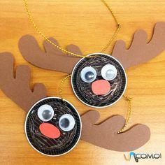 Cómo hacer renos con cápsulas de Nespresso. Una de las tradiciones de la Navidad que más gusta a los niños es la de decorar el árbol y el hogar con motivos navideños. Si tenemos que renovar nuestros adornos de navidad, comprar unos nuevos puede...