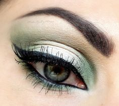 White & Green by Make-upByMaya on Makeup Geek