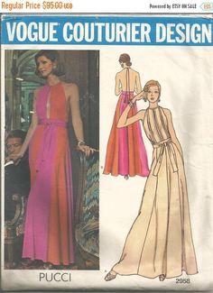 VOGUE COUTURIER 2414 ALINE DRESS SEWING PATTERN BELINDA BELLVILLE ...