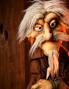 Inspiration for exposed foam puppet