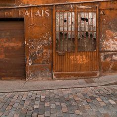 vintage garage doorsCheckered paint garage door  Interesting Garage Doors  Pinterest